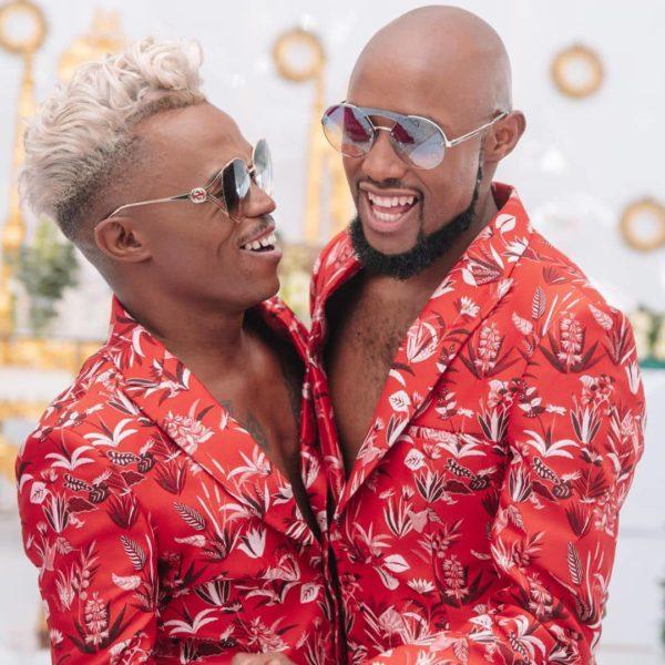 Photos S African Gay Actor Somizi Mhlongo Marries Boyfriend