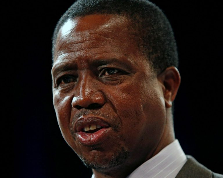 "Zambian President Edgar Lungu: ""It's unbiblical and unchristian… and we don't want it."" (Photo courtesy of Sky.com)"