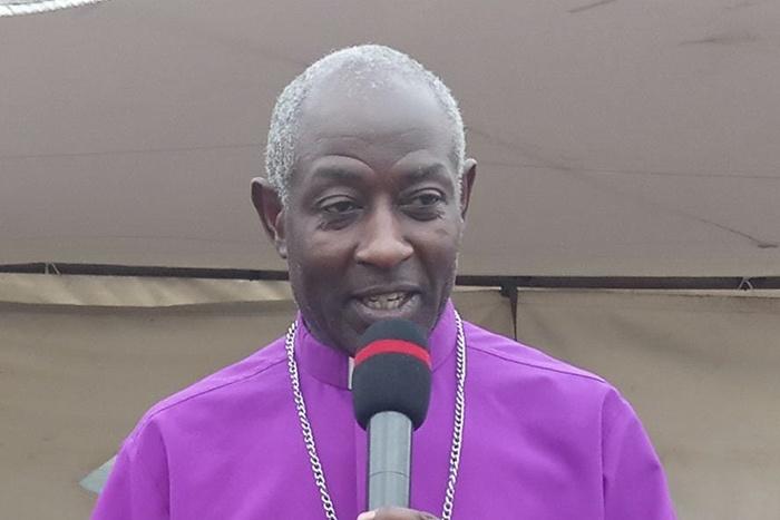 Archbishop-elect Stephen Samuel Kaziimba of the Church of Uganda