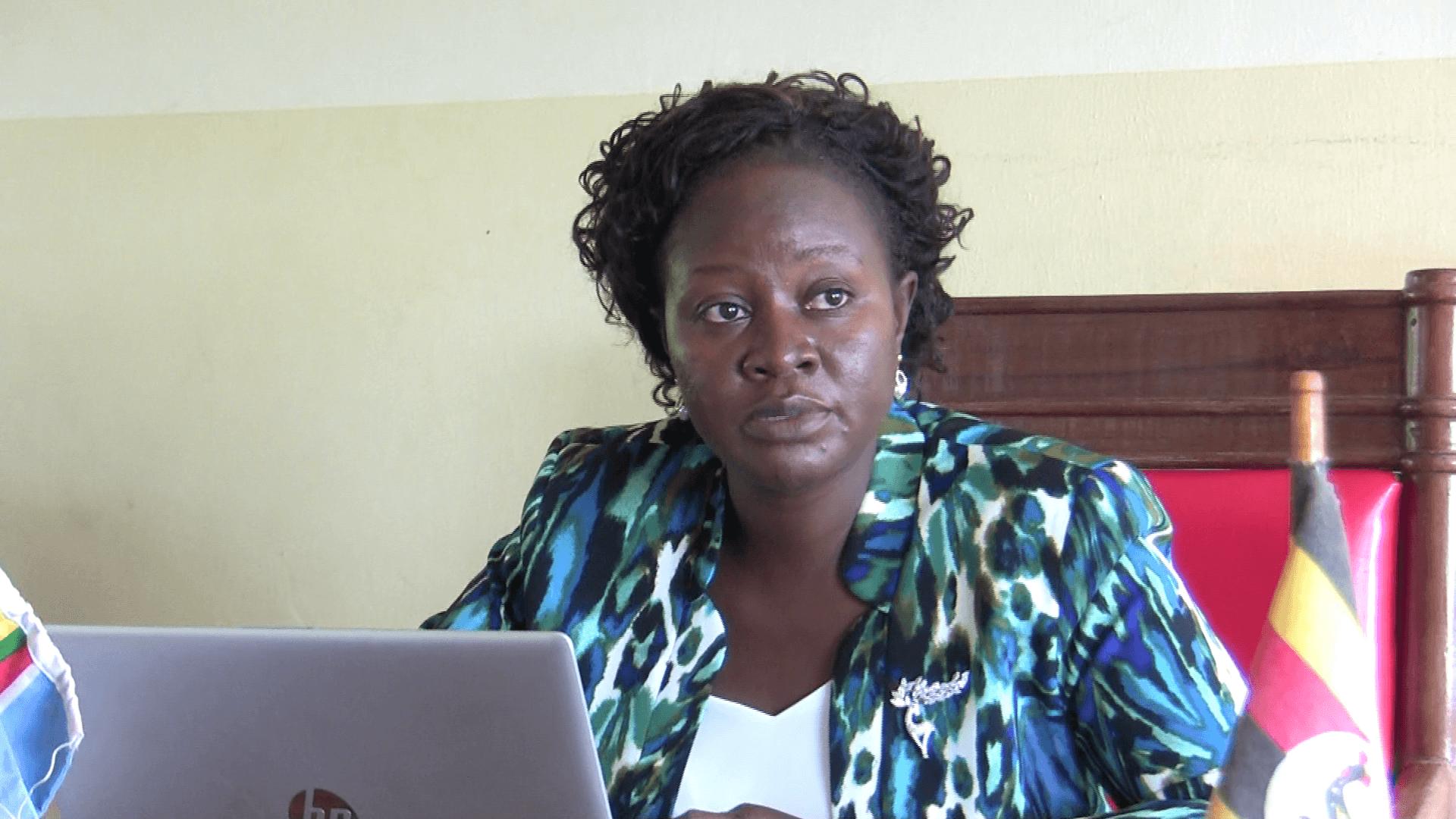 Chief Magistrate Juliet Hatanga presiding over the case today. (UhspaUganda photo)