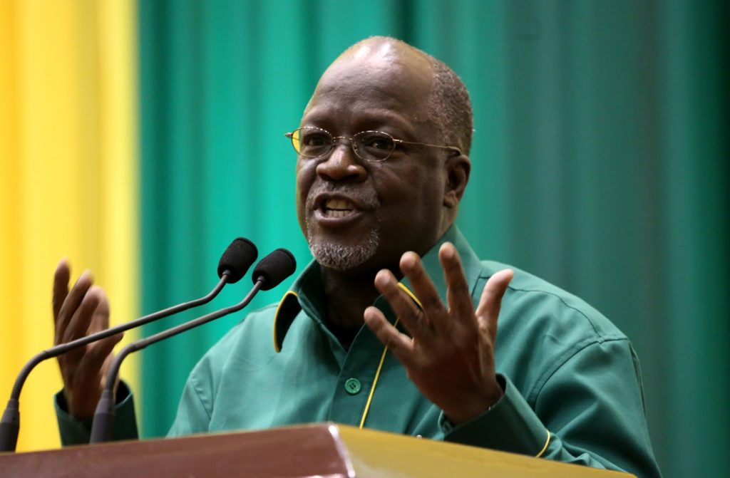 Tanzanian President John Magufuli claims that vaccines are dangerous and that praying and inhaling steam offer better protection against Covid-19. (Photo courtesy of CGTN Africa)