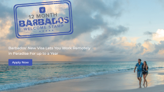 "Barbados ""Welcome Stamp"" visa program encourages remote workers to move to the Caribbean island for a year, but excludes same-sex couples."