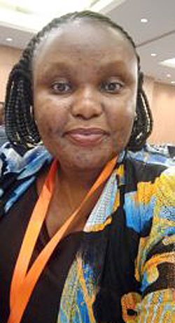 Susan Atuhura, the award recipient. (Courtesy photo)