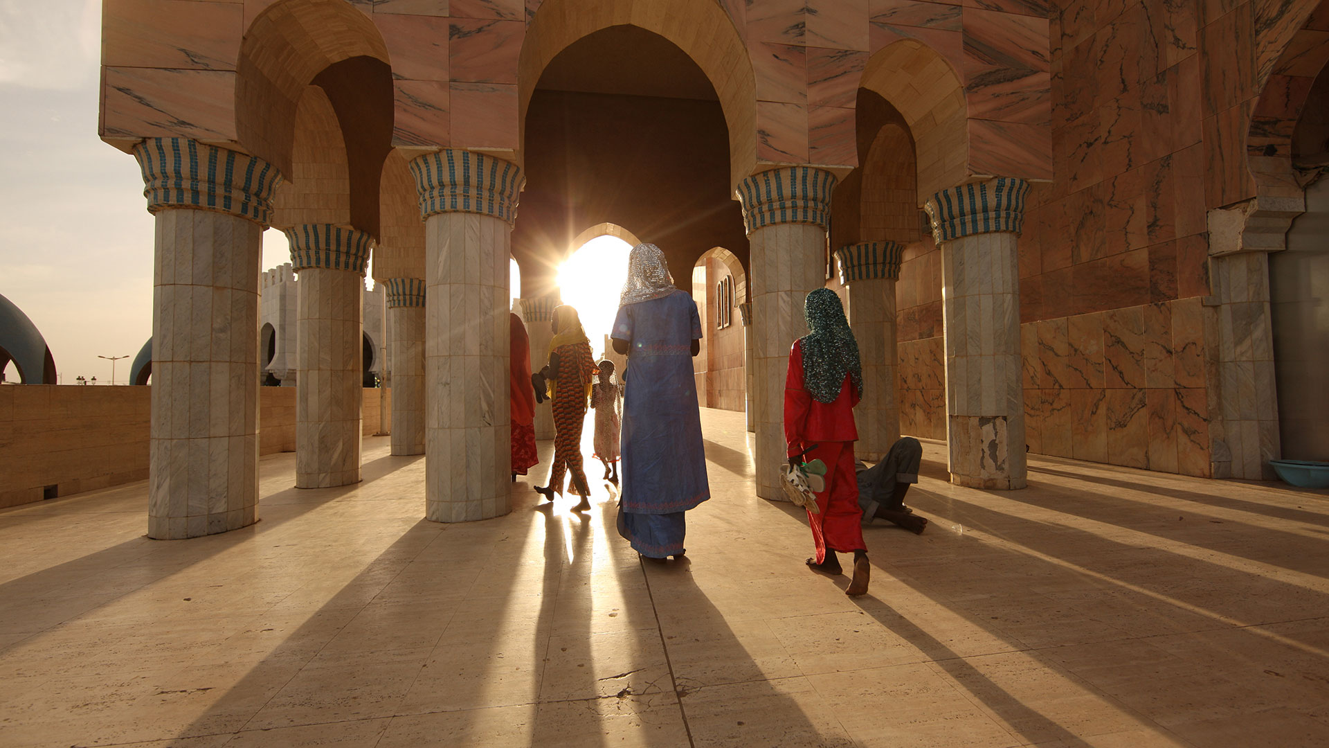 Scene in Touba (Photo courtesy of Amazon.com)