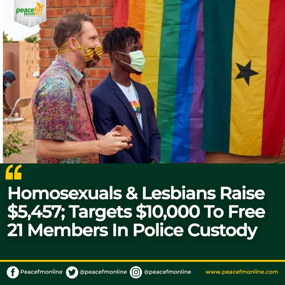 Ghana activists have now raised $8,752 of their goal of $10,000 to help #releaseallthe21.