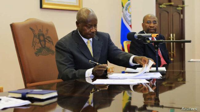 Ugandan President Museveni hints he may not sign new anti-gay bill
